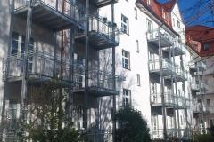 verzinkte Stahlbalkone
